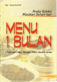Image of Menu 1 bulan
